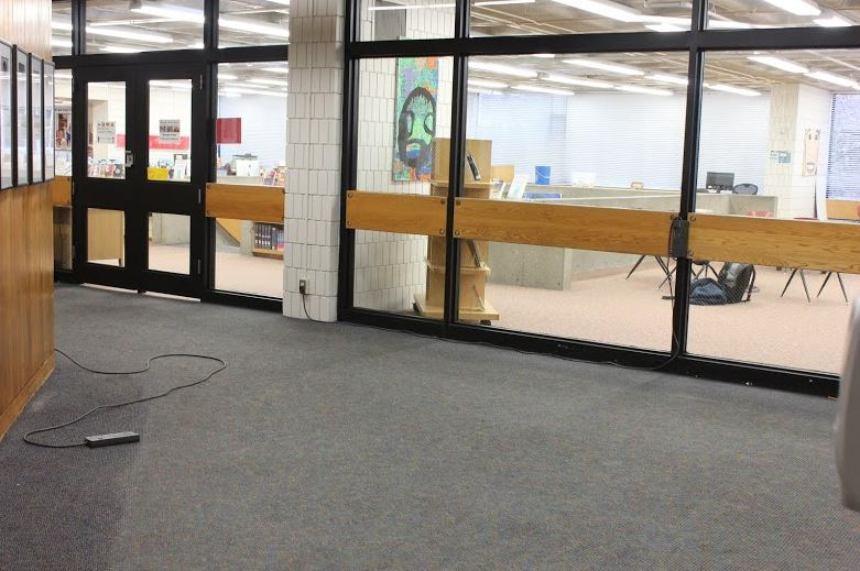 The sophomore benches were removed for three days in response to reports of sexual harassment by a select few who.