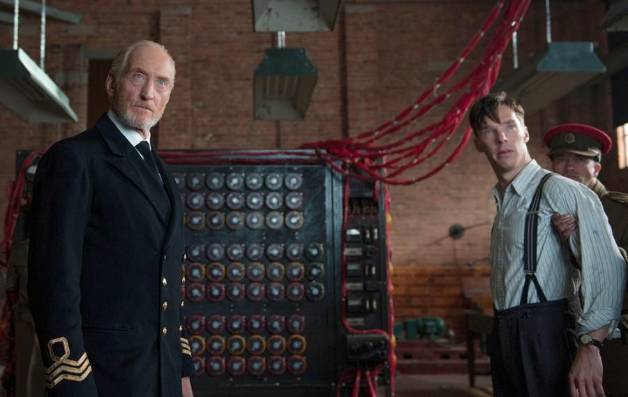 Benedict Cumberbatch and Charles Dance star in The Imitation Game, based off the true story of Alan Turing.