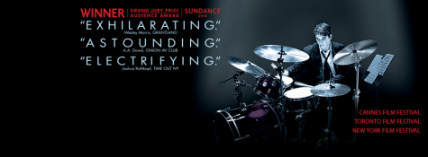 In gripping story about what it takes to be a musical star, Miles Teller plays an aspiring jazz drummer in Whiplash.