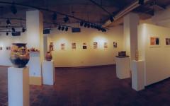 New Work features pottery by ceramics teacher, Daryn Lowman, and photos by Paul Benson, a middle school art teacher.