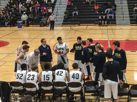 The Road to State: Boys' Varsity Basketball gains the lead over Central in second half
