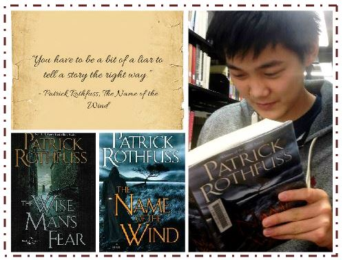 """Sophomore Elliott Tong enjoys epic fantasies, tales of heroes and villains whenever the opportunity arises. """"Longer books have to prove themselves, they have to prove its worth my time to read them,"""" Tong said."""