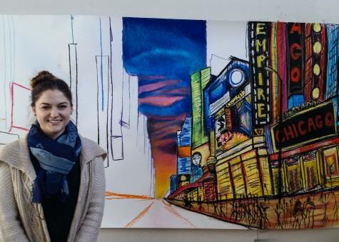 Zaydman strives to embody New York City through artwork