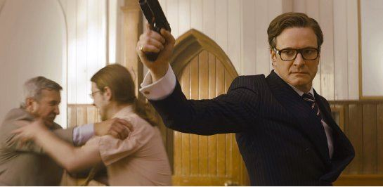 Colin Firth plays Harry Hart, the level headed and wise leader of the service. He took on the character well, but the scripting was so overdone and clichéd that it distracted from his acting ability.