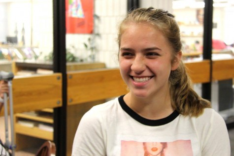 """Being forever alone [is my greatest fear]. It's a terrible fear, I know. If I was stuck in a room full of butterflies, that wouldn't work out too well either. I'm extremely afraid of butterflies,"" freshman Gabby Harmoning said."