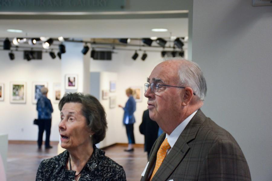 John Huss with his wife, Ruth Huss.