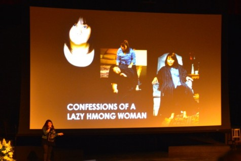 """May Lee-Yang discusses her premier play """"Confessions of a Lazy Hmong Woman""""."""