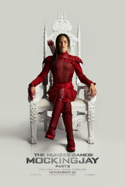 The final installment of The Hunger Games, Mockingjay Part 2, concludes the epic series with action and memorable scenes.