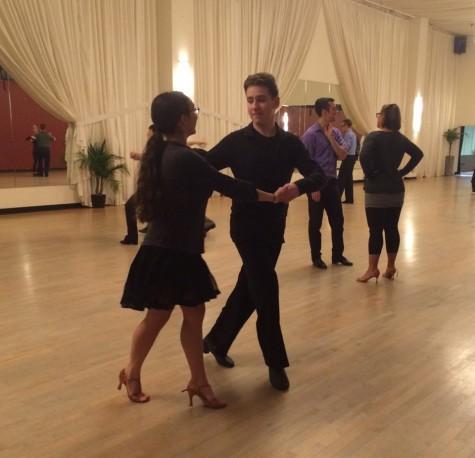 Vizelman (ballroom) dances through life