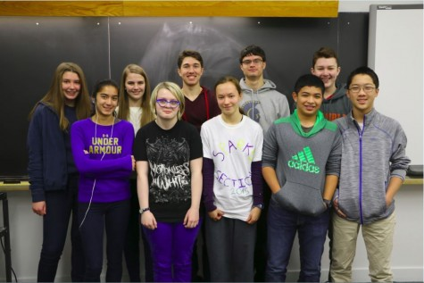 Math Team starts off season successfully with win against Blake