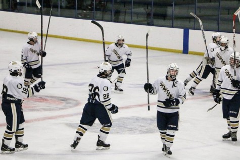 Boys Varsity Hockey defeats Simley High School 7-0