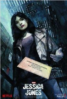 JESSICA JONES is a thrilling TV show featuring a main character who is very different than normal Marvel super heroes. It's a mature but captivating show that is perfect to binge over break.