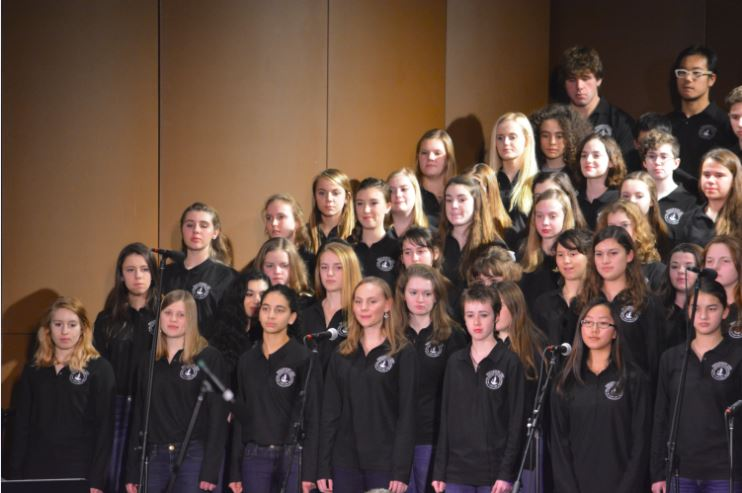 SUMMIT SINGERS AND ACADEMY CHORALE perform Dec. 4 in the Huss Center.