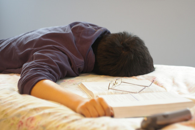 Teens should be getting over 8 hours of sleep to stay healthy.