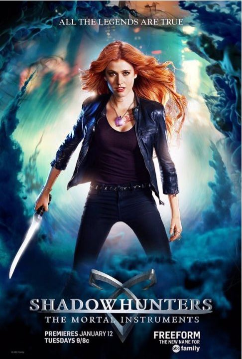 Shadowhunters is a new TV show on Freeform, formerly known as ABC Family. It is very intence and while the intensity may not be enough to make the show stay around for a long time, it makes you want to watch at least the next episode.