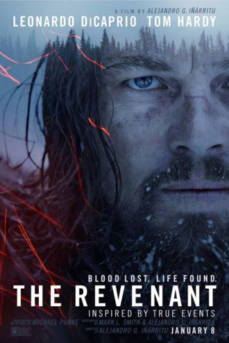 The Revenant features Leonardo DiCaprio as Hugh Glass, a man whos left stranded in the middle of the wilderness after his hunting team abandons him.
