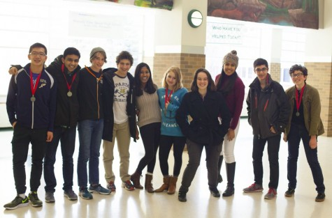 Science Alliance club competes in Science Bowl, qualifies for State in Science Olympiad