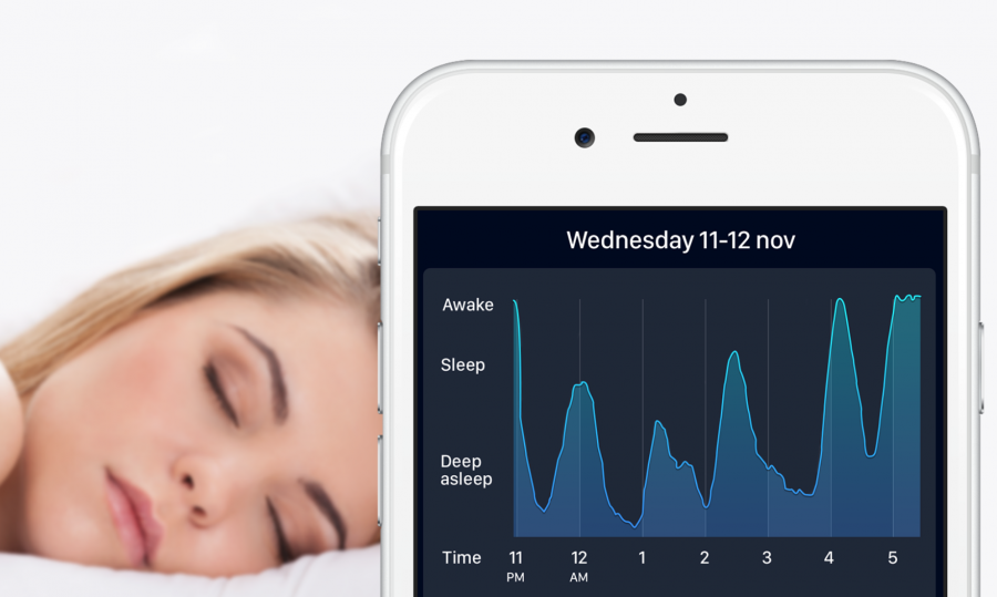 Sleep Cycle Alarm Clock is easy to use. Just set the phone on the floor or a table near bed, so that the vibration analysis can add data throughout the night.