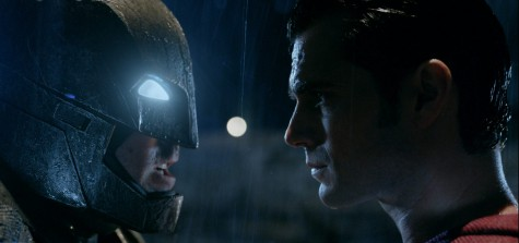 Clark Kent (Henry Cavill) and Bruce Wayne (Ben Affleck) face off in DC's newest venture, Batman V Superman: Dawn of Justice