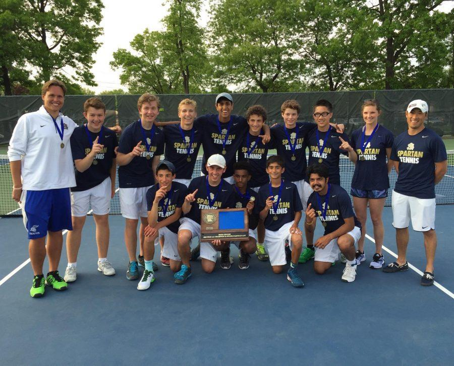 The Boys Varsity Tennis team will play in the state tournament for the first time since 2008 when they won the state championship.