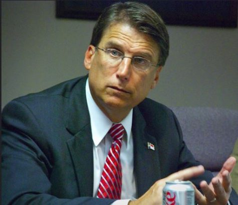 Gov. Pat McCrory claims his new bill requiring people to use the batrooms that respond to the gender on their birth certificate isn't discriminatory.