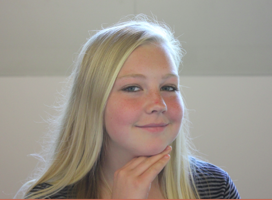 Freshman Emma Sampson  likes her new free periods: