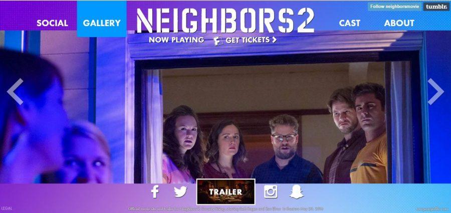Neighbors 2: Sorority Rising follows the Radners struggle to get Kappa Nu out of the neighborhood.