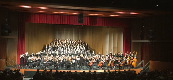 Every St.Paul Academy and Summit School orchestral and choral musician shares the stage to play 'Carmina Burana', closing out the 2016 Spring Concert on Apr. 30.