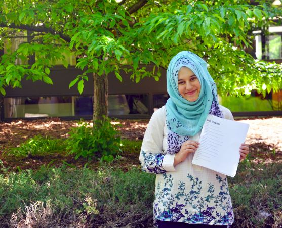 Noor Qureishy has been named the Al Neuharth Free Spirit Scholar for the state of Minnesota.  she will attend the Free Spirit conference June 18-25.