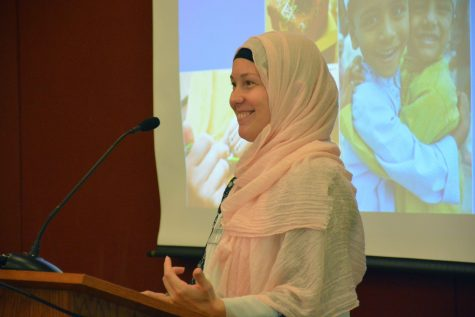 MSA hosted Christina Ferdous on Sept. 28 in Bigelow Commons to speak about Eid-ul-Fitr, Eid-ul-Adha and her experience as being a Muslim who wasn't raised in a Muslim household.