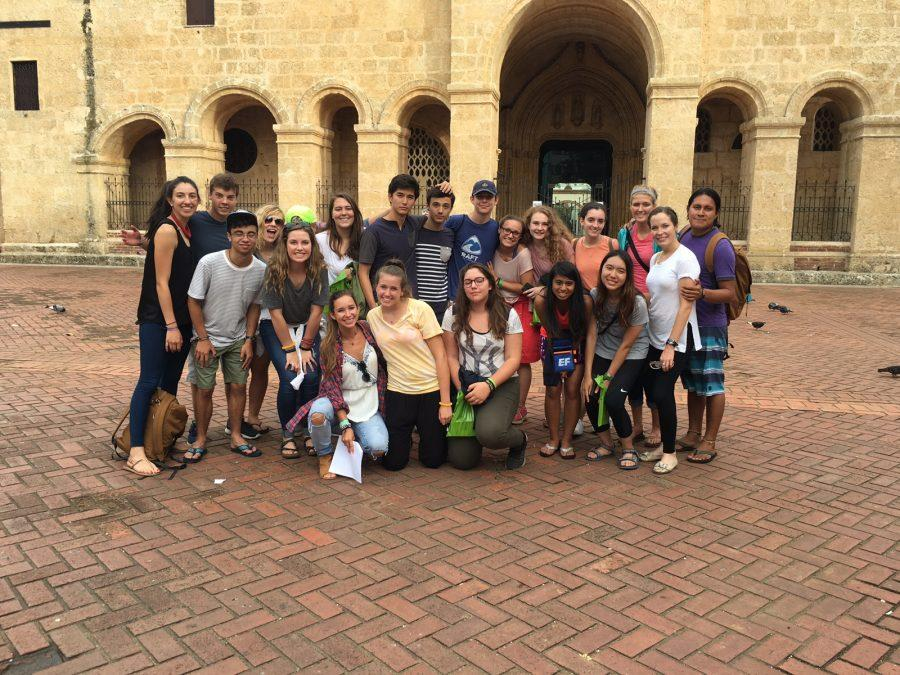 Sophomore Jazz Ward traveled to the Dominican Republic over the summer with Rustic Pathways in hopes to begin the production of an aqueduct in a small village.