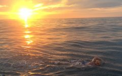 Caellach Gibbons '12 completes the English Channel swim