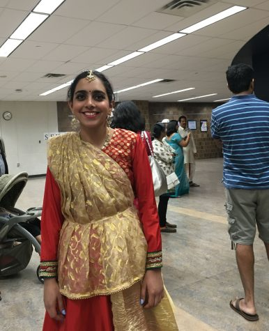 Senior Sonia Sukumar has been doing Kathak Indian dance since she was in fourth grade.