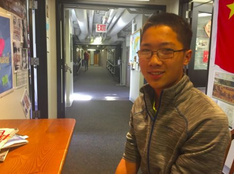 Huang prepares to participate in Princeton University Mathematics Competition