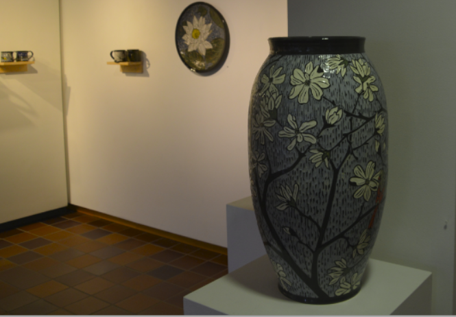 Six different ceramics artists, all with different styles to their pieces are being featured in this years Traditional Ceramics Invitational.