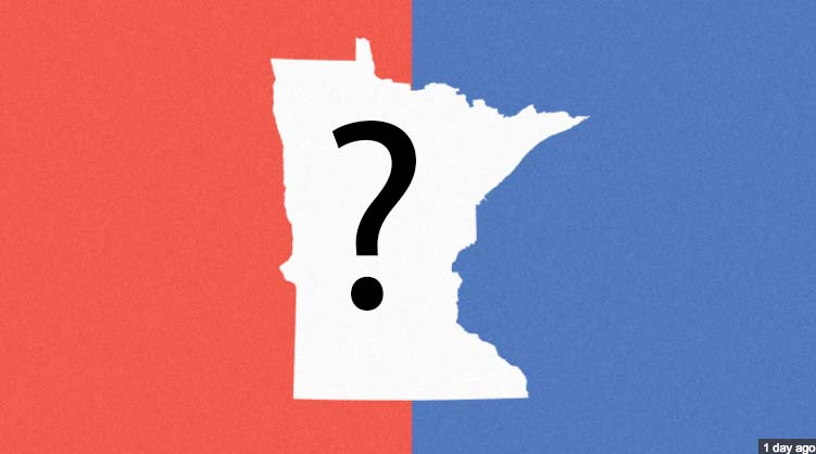 Minnesota has voted Democrat in the presidential election since 1972.