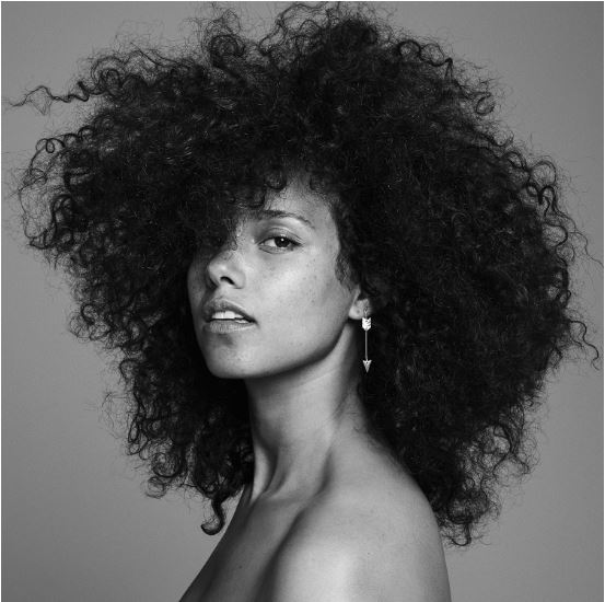 This is the album cover of Alicia Keys newest album Here, released on Nov. 4, 2016.