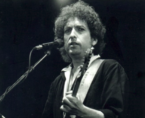 Bob Dylan performing at one of his many concerts. Photo credit: