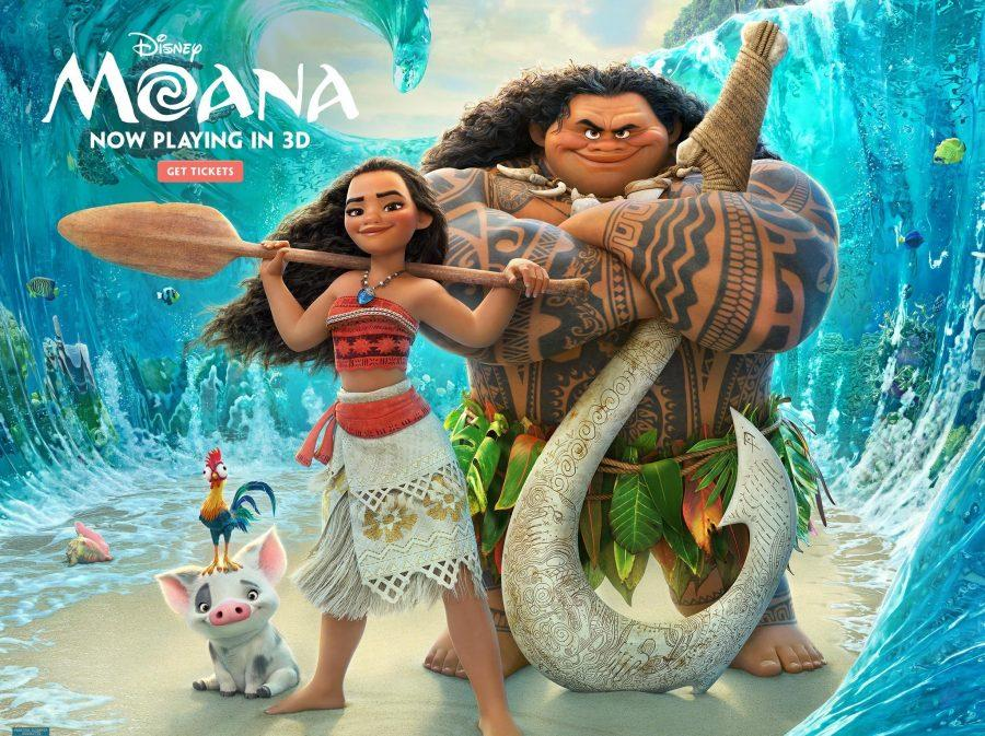 Disney's most recent film Moana was released on Nov. 23, 2016. Fair Use Image:
