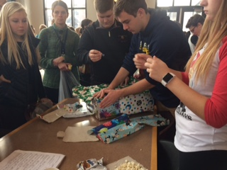 Advisories purchase gifts for annual Support-a-Family service event