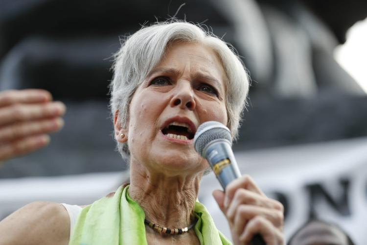Jill Stein's initial hope was to prove there was faultiness within the voting, but it has changed to a focus on voting reform. Credit: Alex Brandon
