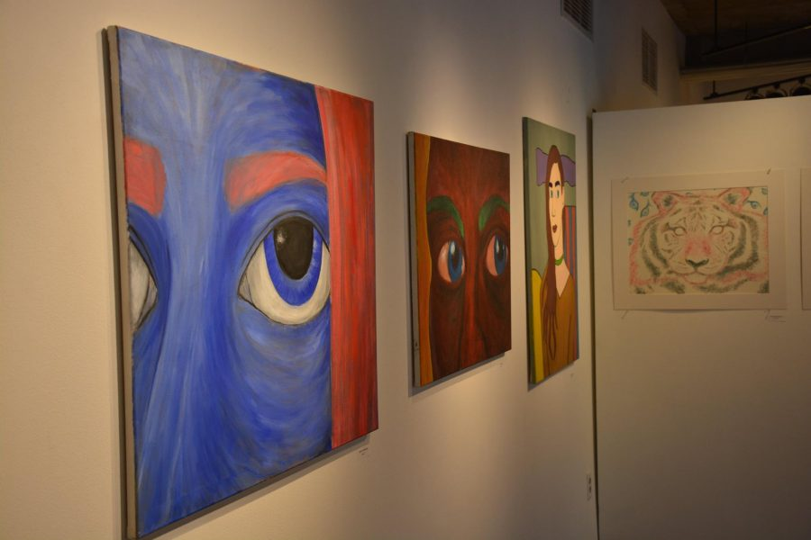 The Winter Student Art Exhibits highlights student artwork made this year so far. The exhibit is in Drake Gallery and the reception takes place Jan. 25.