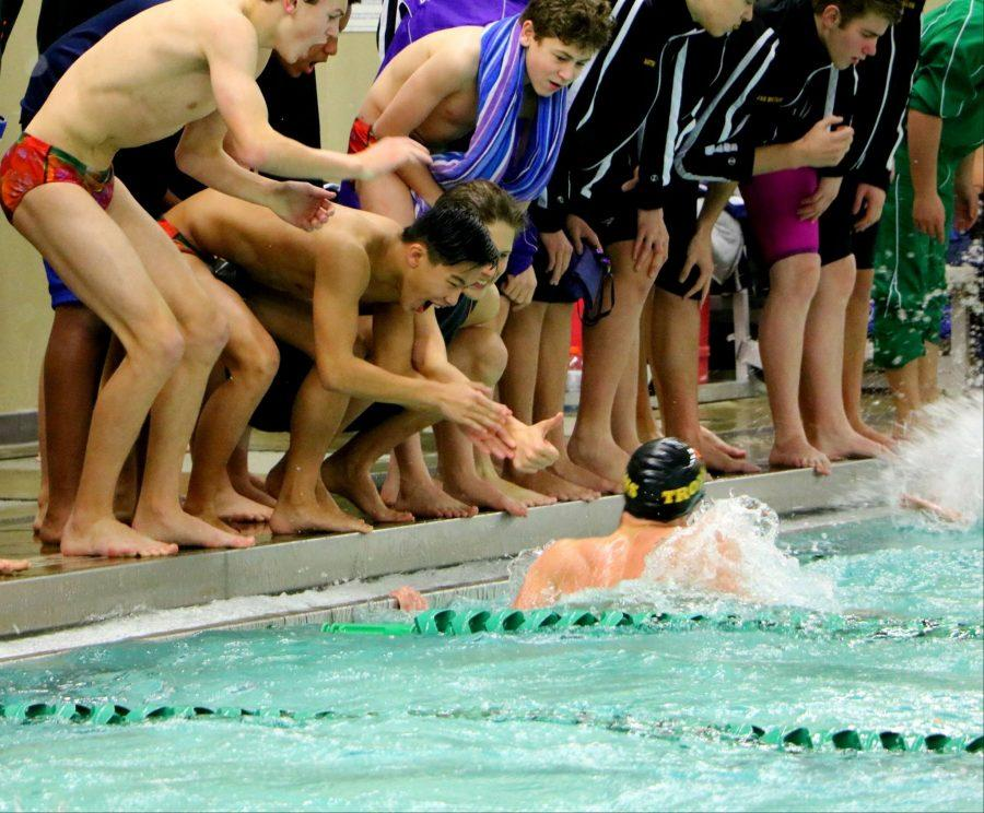 Trojans Boys' Swim team earns fifth place