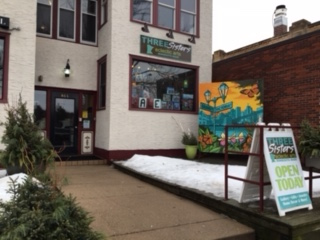 Three Sisters Art Shop is located at 844 Grand Ave. and offers Minnesota-made art, jewelry, soaps and more.