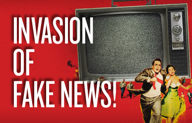 Keeping Journalism alive. Fake news stories are becoming more dangerous as false articles quickly fill up the internet.