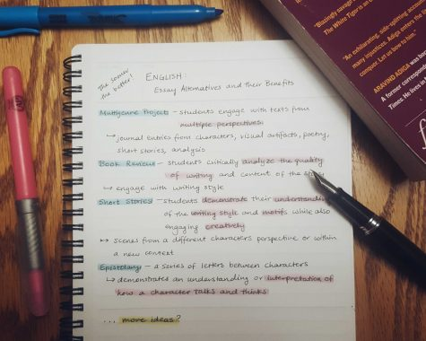 THE VENT: English curriculum should incorporate more essay alternatives