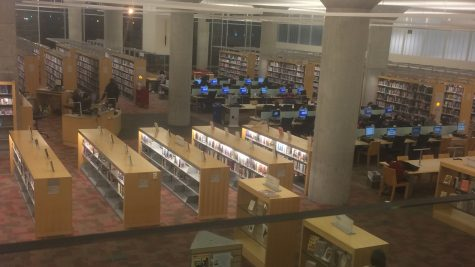 Local libraries remain prevalent for student research
