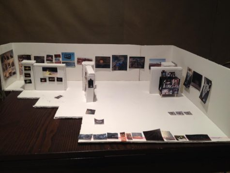 Artistic design. A lot of work goes in to the design of an are exhibit.