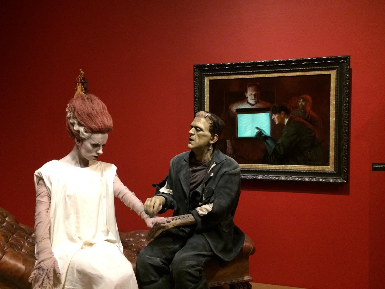 Guillermo Del Toros exhibit entitled At Home With Monsters is open at the Mia until May 28.