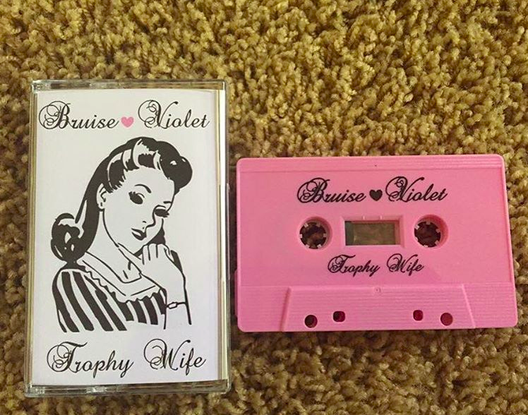 Bruise Violet's new album, Trophy Wife, has five new tracks.